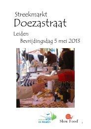 Deelnemers aan de streekmarkt - Slow Food Nederland