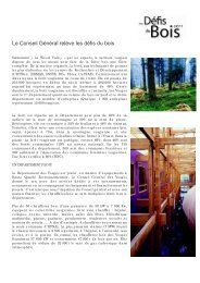 Téléchargez le communiqué de presse - Vosges