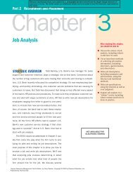Job Analysis - Pearson Learning Solutions