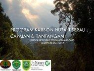 program karbon hutan berau - Forest Climate Center