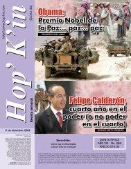 Obama: Felipe Calderón,