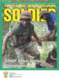 december 2 0 1 1 • sasoldier - Department of Defence
