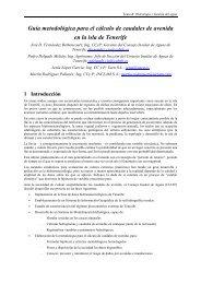 Guía metodológica para el cálculo de caudales de avenida en la ...