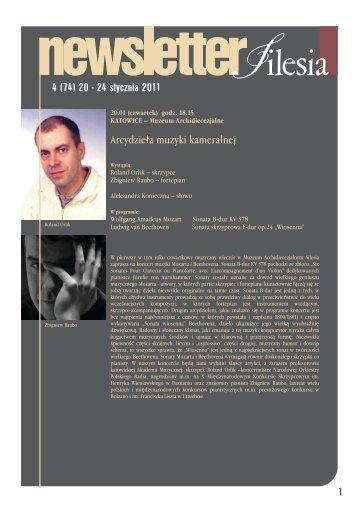 4 (74) 20 - 24 stycznia 2011 1 - Silesia