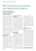 Forskning om funktionshinder pågår - Nummer 2 2012 - Centrum för ... - Page 4