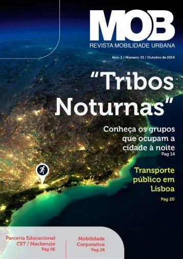 MOB - Revista Mobilidade Urbana  <h3> Edição 01 </h3>