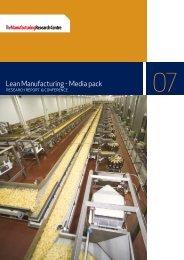 Lean Manufacturing - Media pack - The Manufacturer.com