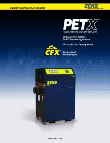 PET Container Production - ZEKS Compressed Air Solutions