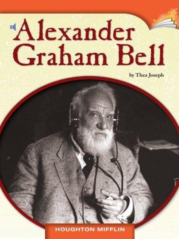 Lesson 14:Alexander Graham Bell