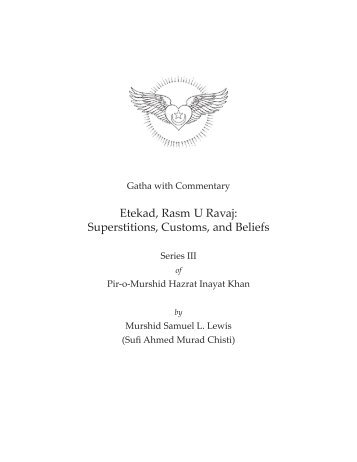 Gatha Etekad Rasm U Ravaj (Superstitions, Customs, and Beliefs)