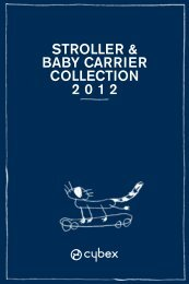 stroller & baby carrier collection 2012 - Cybex