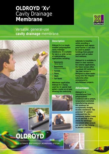 Oldroyd Xv datasheet - Safeguard Europe Ltd.