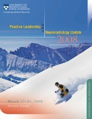 Practice Leadership & Neuroradiology Update (PDF) - ESR ...