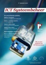 ICT Systeembeheer - IVPV - Instituut voor Permanente Vorming