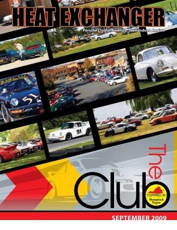 SePtembeR 2009 - Shenandoah Region Porsche Club of America