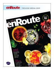   TROUSSE média 2009 - enRoute - Air Canada