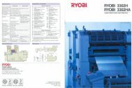 Product information: Ryobi 3302H 3302HA - Ferrostaal Inc