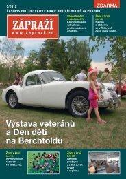 časopis pro obyvatele kraje jihovýchodně za prahou 5/2012 - Zápraží