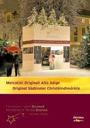 Download Brochure 2012 - Stadtmarketing Bruneck