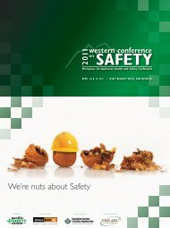 We're nuts about Safety - The Pacific Safety Center