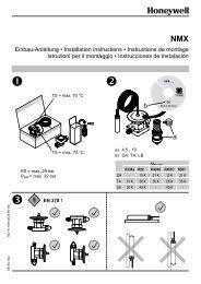 Page 1 a) 4.5 - 10 b) DA, TA, LB NMX Einbau-Anleitung • Installation ...