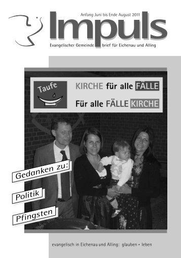 Taufe - Konfirmation - Trauung - Beerdigung - Friedenskirche ...