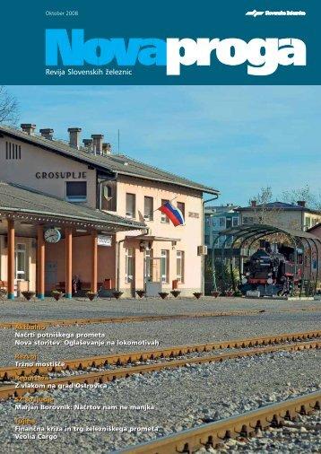 Oktober (.pdf, 1 MB) - Slovenske železnice