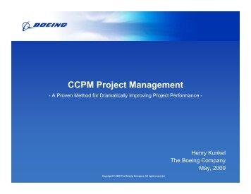 CCPM Project Management