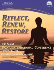DONA International Conference
