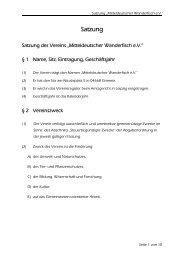 Satzung - MdWf e.V. - Mitteldeutscher Wanderfisch eV