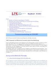 Rundbrief 01/2013 - Landespsychotherapeutenkammer Rheinland ...