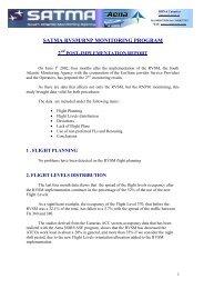 SATMA RVSM/RNP MONITORING PROGRAM 2