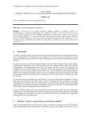 comment assurer l'evaluation diagnostique des ... - admee 2012