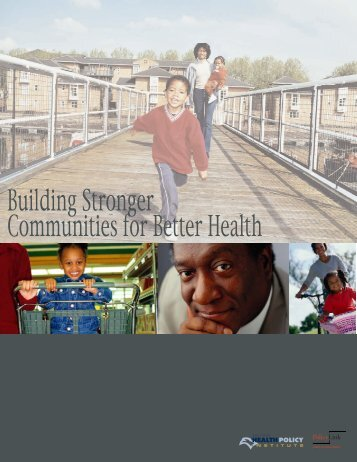 Building Stronger Communities for Better Health - Racial Equity Tools