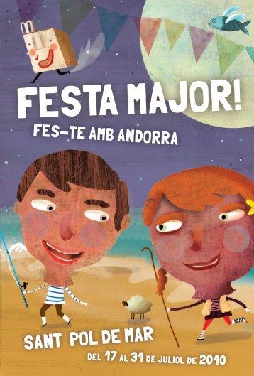 programa festa major pdf - Ajuntament de Sant Pol de Mar