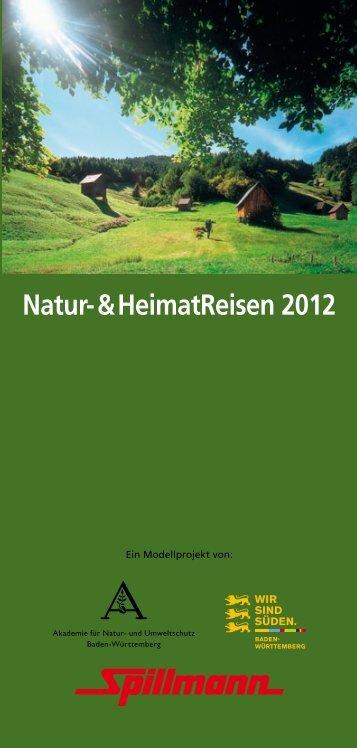 Natur- & Heimatreisen 2012