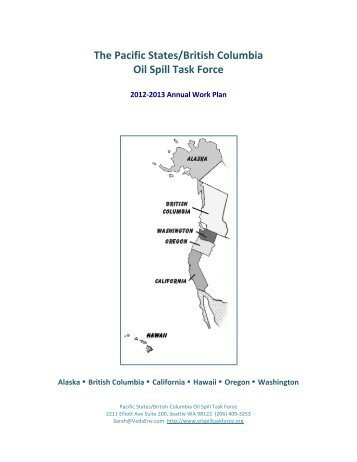 2012-?2013 Work Plan TABLE OF CONTENTS - Pacific States ...