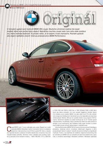 Recenzia: BMW 135i Coupé Performance pack - AutoTuning.sk