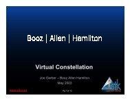 Virtual Constellation - AGI