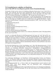NS-Gesundheitsgesetz endgültig vom Bundestag am 24. Mai 2007 ...