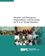 Disaster and Emergency Preparedness: Activity Guide for K to 6th ...