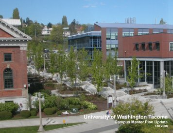Table of Contents - University of Washington Tacoma