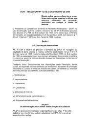 COAF - RESOLUÇÃO Nº 14, DE 23 DE OUTUBRO DE ... - Sinduscon