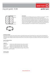 gasket spec ring joint gasket - RJ BX - seal-mart
