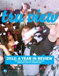 2012: A YeAr in review - TNS Sofres