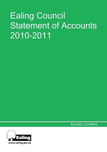 Statement of Accounts 2010-11 v10.xls - Ealing Council