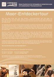 Moor-Entdeckertour - Staatsbad Nenndorf