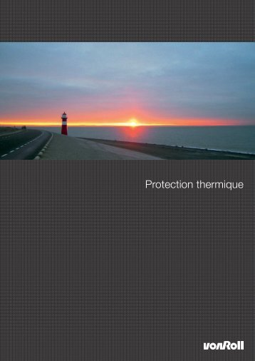 Protection thermique - Von Roll
