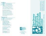 View the NJHRIC brochure - Newark Public Library
