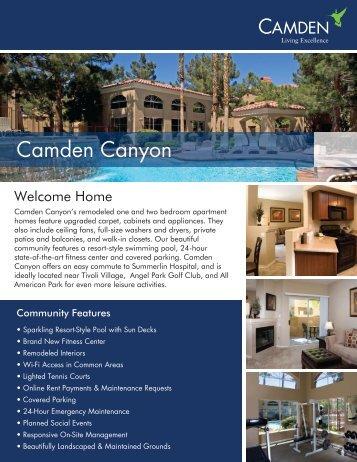 Camden Canyon